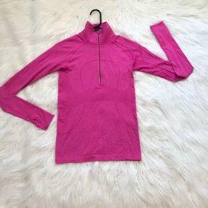 Hot pink Lulu lemon quarter zip !